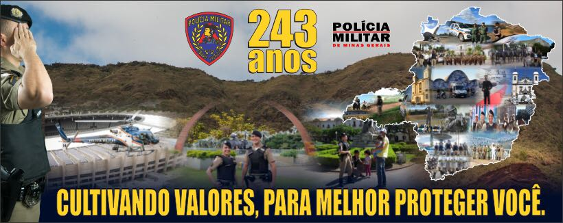 243 ANOS - PMMG